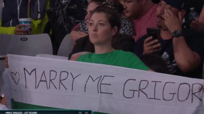 Григор Димитров получи предложение за брак