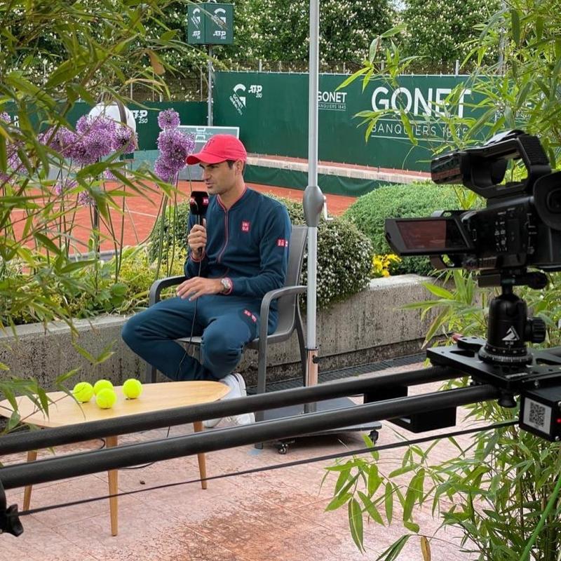 Фалстарт за Федерер при завръщането му на корта в Женева