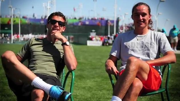 ВИДЕО: Димитров и Долгополов в поредна реклама на Wilson