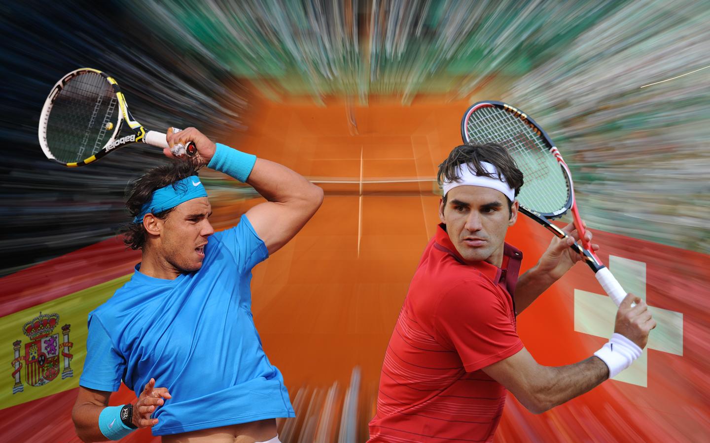Сблъсъкът Федерер срещу Надал извън корта
