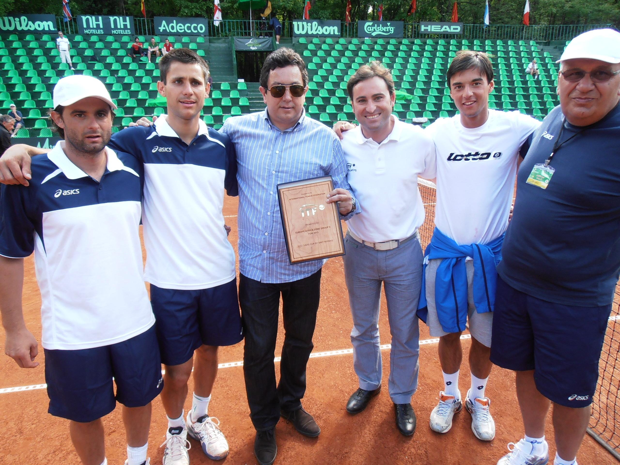 ITF награди България за победител в групата