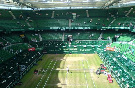 Тенис комплексът в Хале ще носи името на Роджър Федерер
