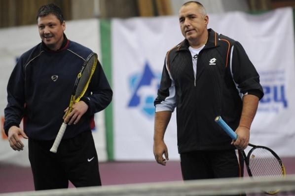Любо Пенев (без Бойко Борисов) отново най-добър на тенис