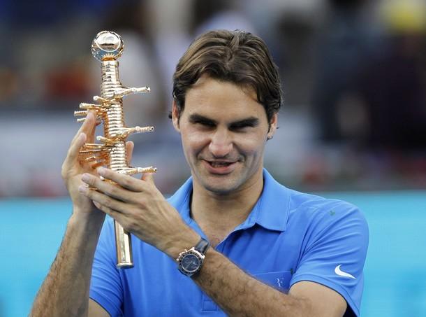Роджър Федерер - №1 на син клей и №2 в ранглистата - ВИДЕО