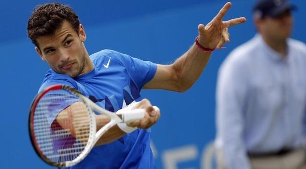 Григор Димитров с първи четвъртфинал за сезона