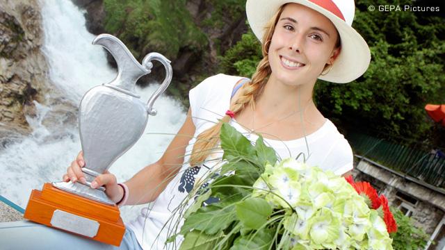 Ализе Корне триумфира в Бад Гащайн без загубен сет