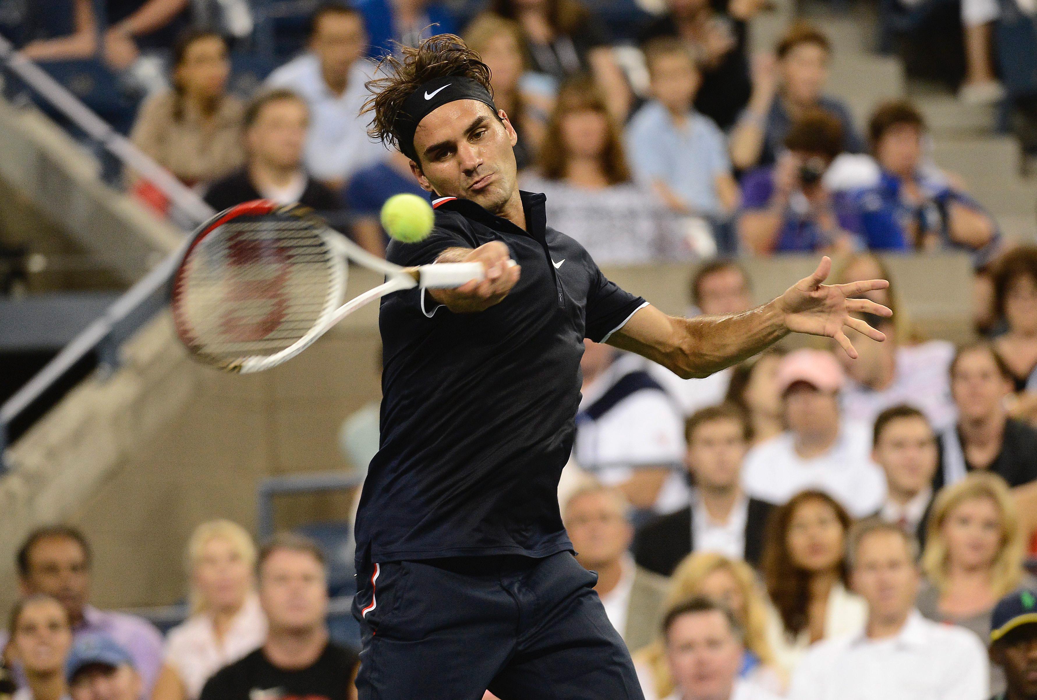 Роджър Федерер се разправи с ветеран от Германия