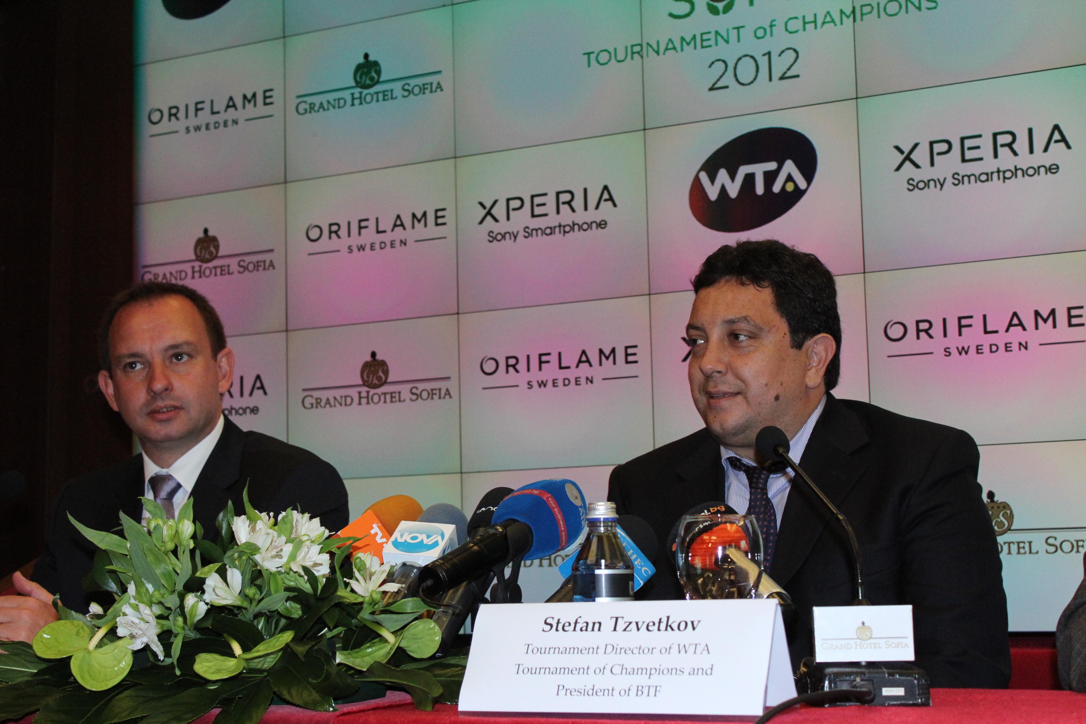 От WTA очакват тенис-шоу в София