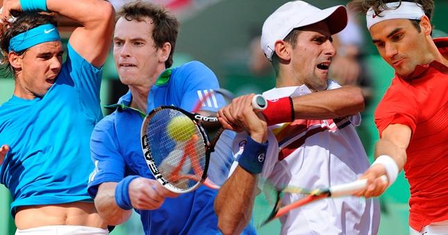 Статистика: Федерер №1 на сервис, Надал ненадминат при ретур