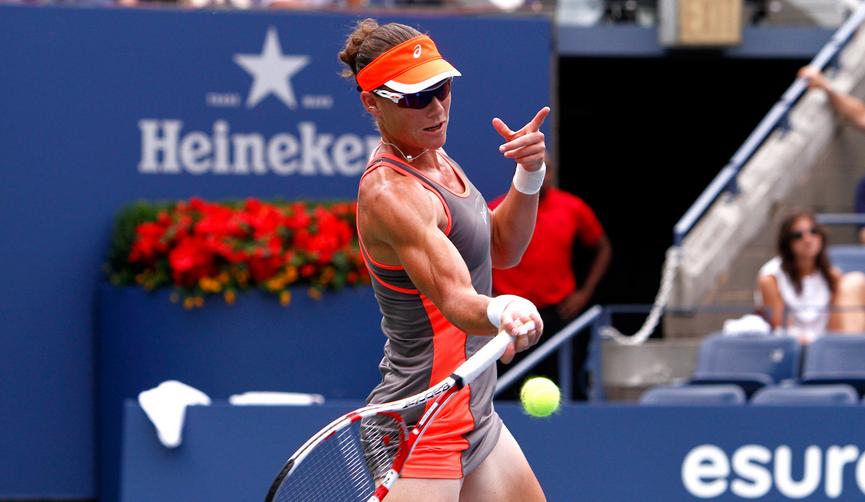 Саманта Стосър изрита Шарапова от Pan Pacific Open