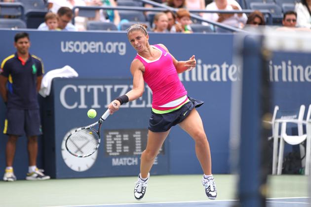 Сара Ерани не завърши мач от първи кръг