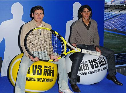Футболните фенове в световния тенис