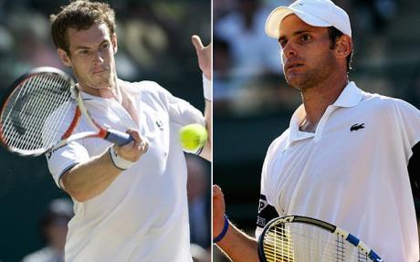 Анди Родик и Анди Мъри ще играят на... бял корт