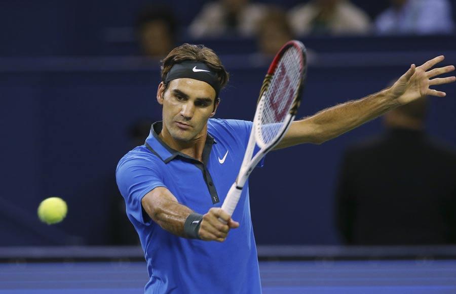 Федерер с трудна победа за място на четвъртфинал