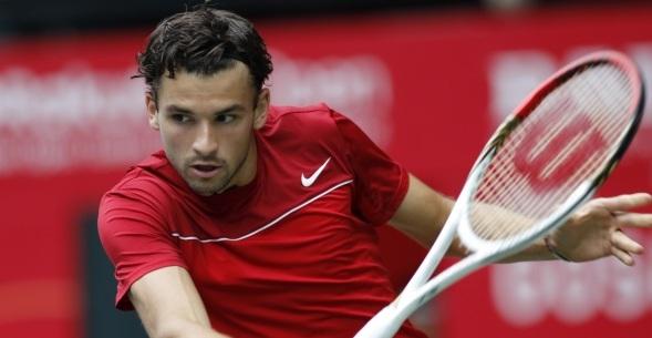 Григор Димитров се размина с двубой срещу Федерер