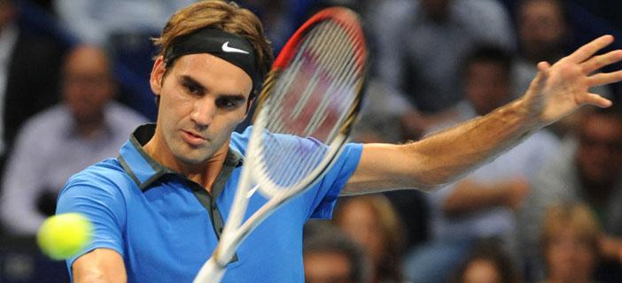 За 9-и път Федерер играе финал в Базел (видео)