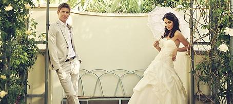 Пореден тенисист намери време за сватба