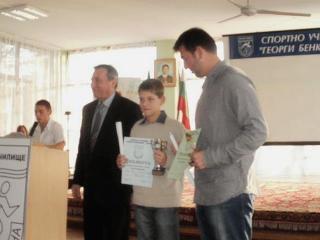 Симон-Антони Иванов с награда във Варна