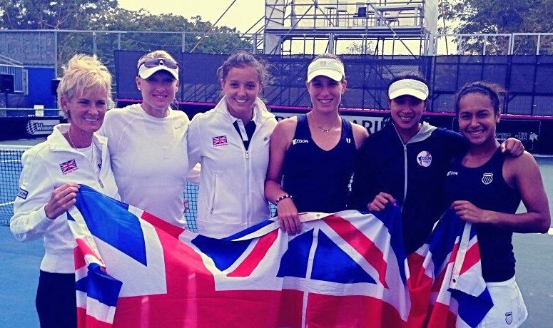 Лора Робсън след успеха над България: Направихме го!