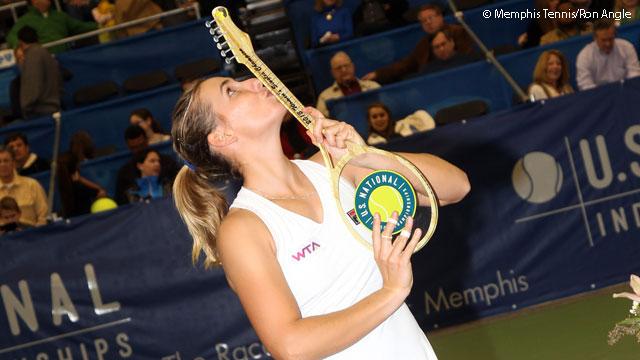 Марина Еракович с първа титла в кариерата си