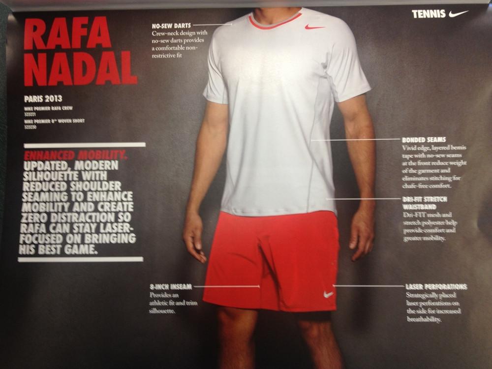 """Nike представи екипа на Рафаел Надал за """"Ролан Гарос"""""""