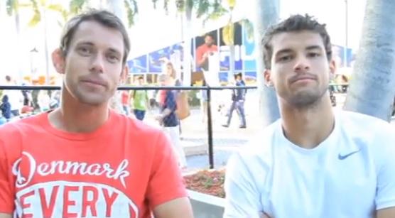 Нилсен: С Григор се разбираме прекрасно на корта (видео)
