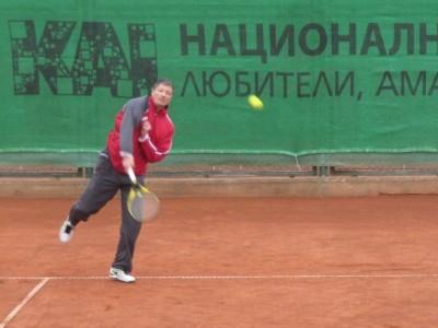 Любо Пенев стартира в Националната тенис лига