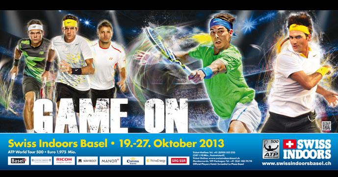 Федерер, Надал и Дел Потро ще участват на турнира в Базел