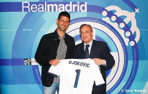 Новак Джокович изгледа двубой на Реал Мадрид