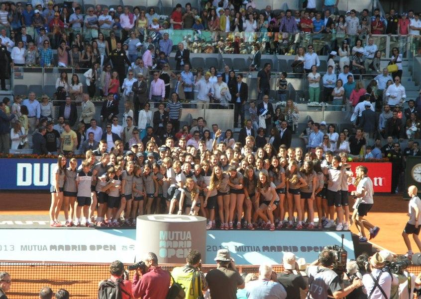 Зад кулисите на турнира в Мадрид