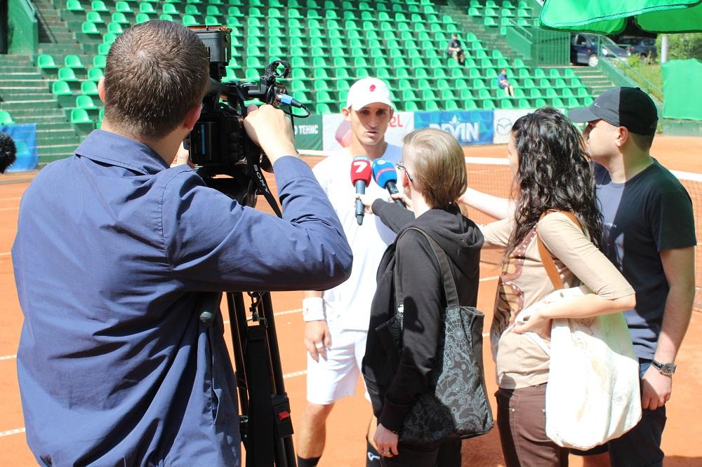 Кутровски пред Tennis24.bg: Целта ми е Топ 100, но...