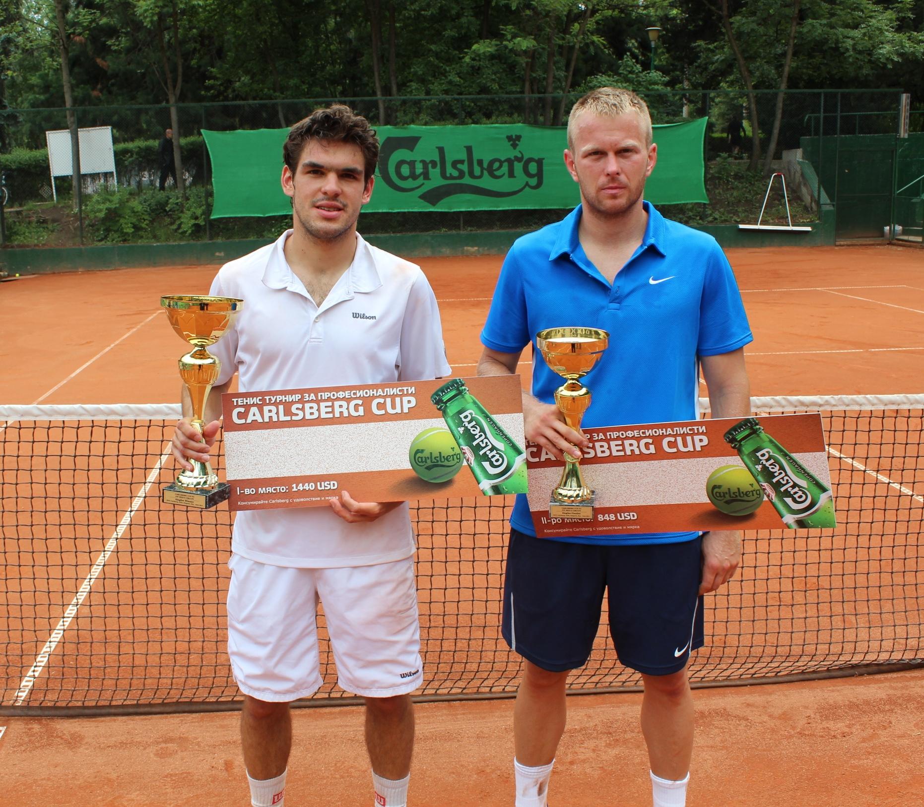 Белгиец спаси 2 мачбола и спечели турнира Carlsberg Cup в София
