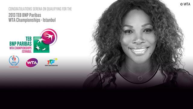 Серина първа си осигури място на финалния WTA Championships