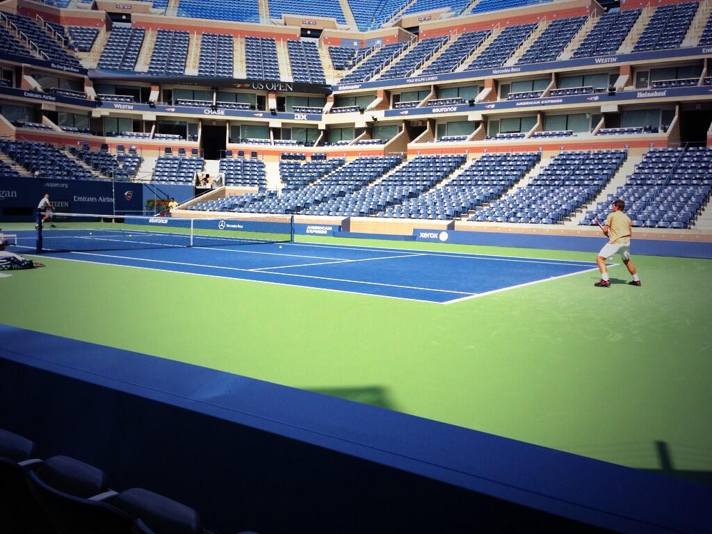 Гришо се готви за US Open със Стан Вавринка (снимки)