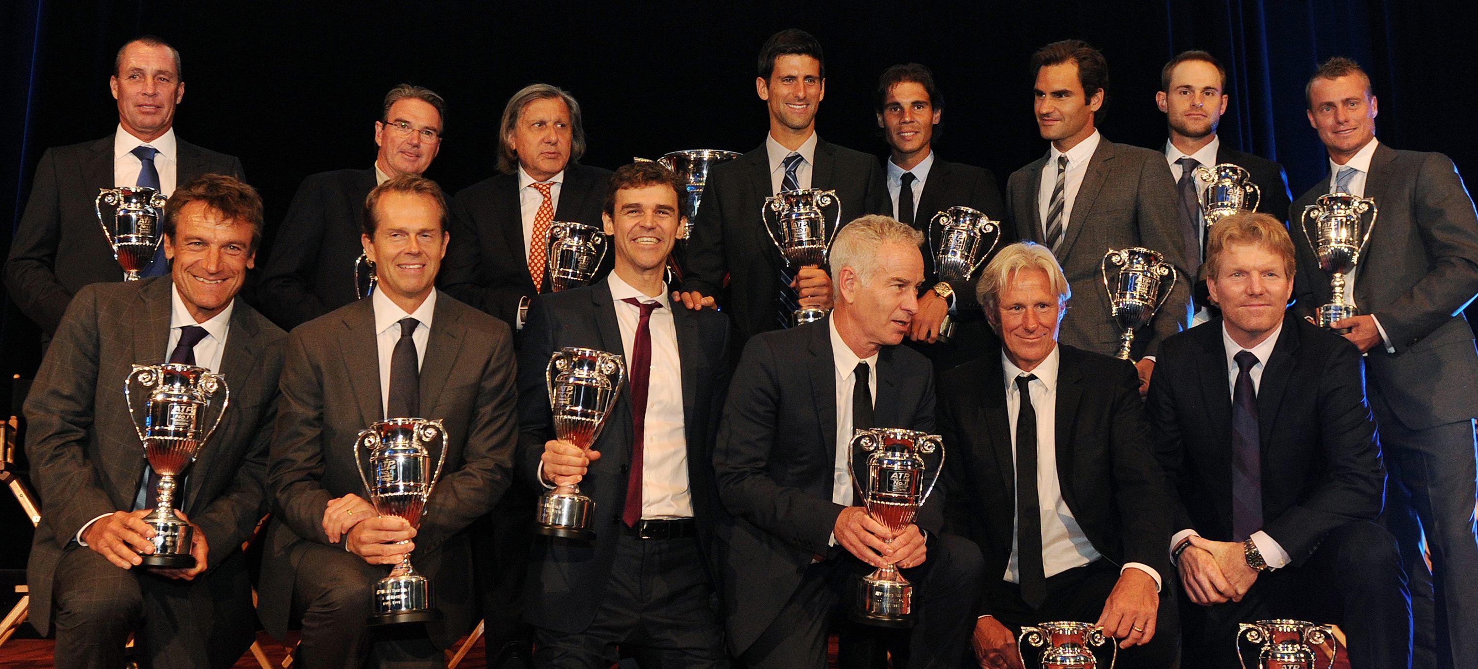 Звездна церемония в чест на последните 25 играчи №1 в света