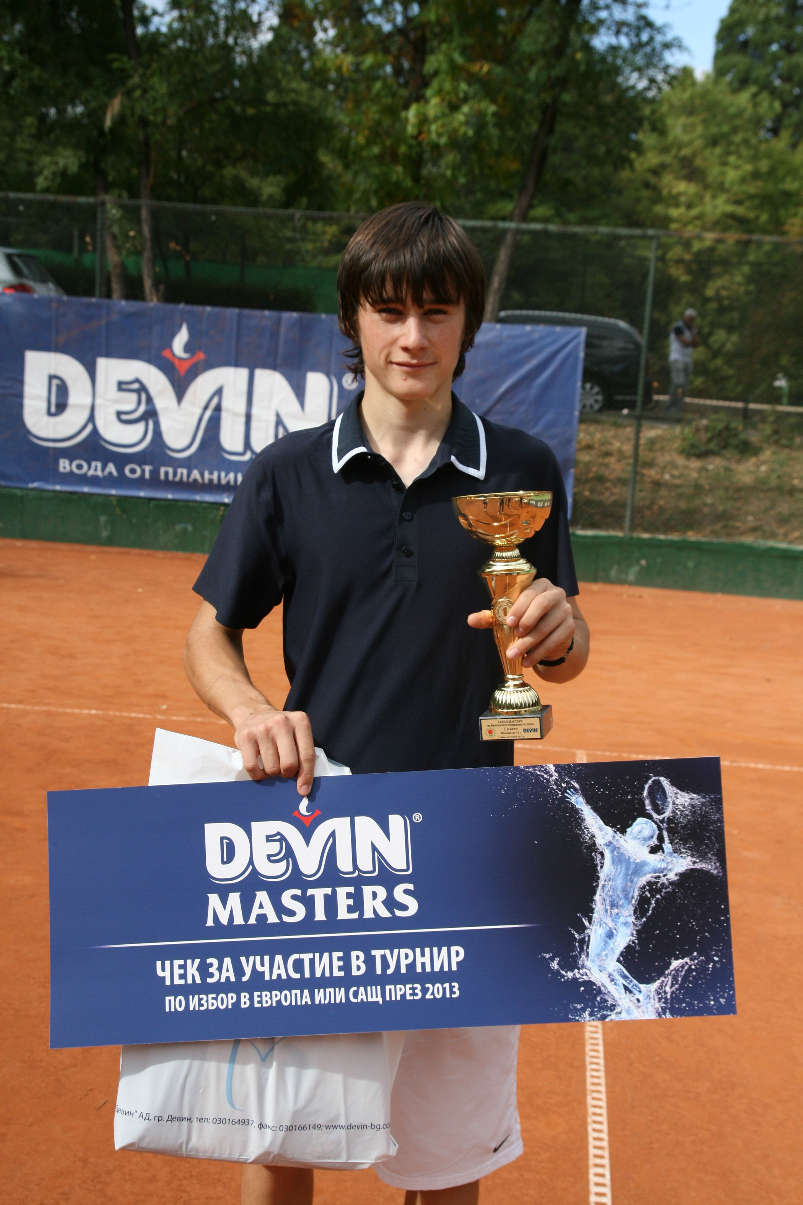 Млада българска надежда ще участва на турнир в Швейцария