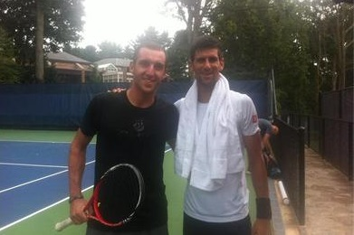 Ноле избра Васко Младенов за свой спаринг-партньор на US Open