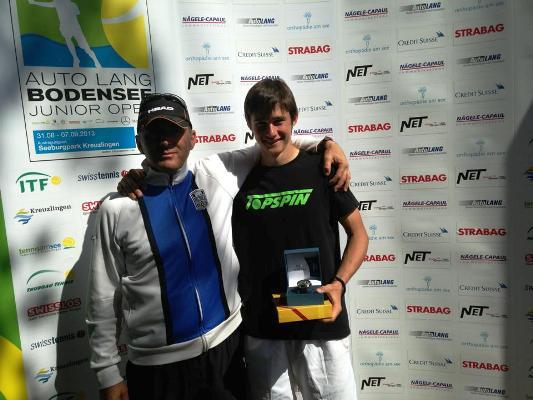 Габриел Донев №1 на турнир в Швейцария