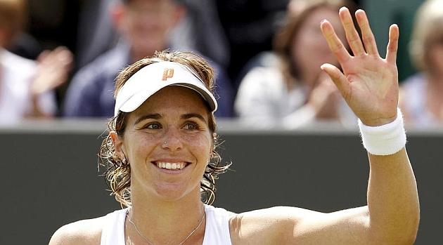 Бременната Мартинес Санчес спира с тениса