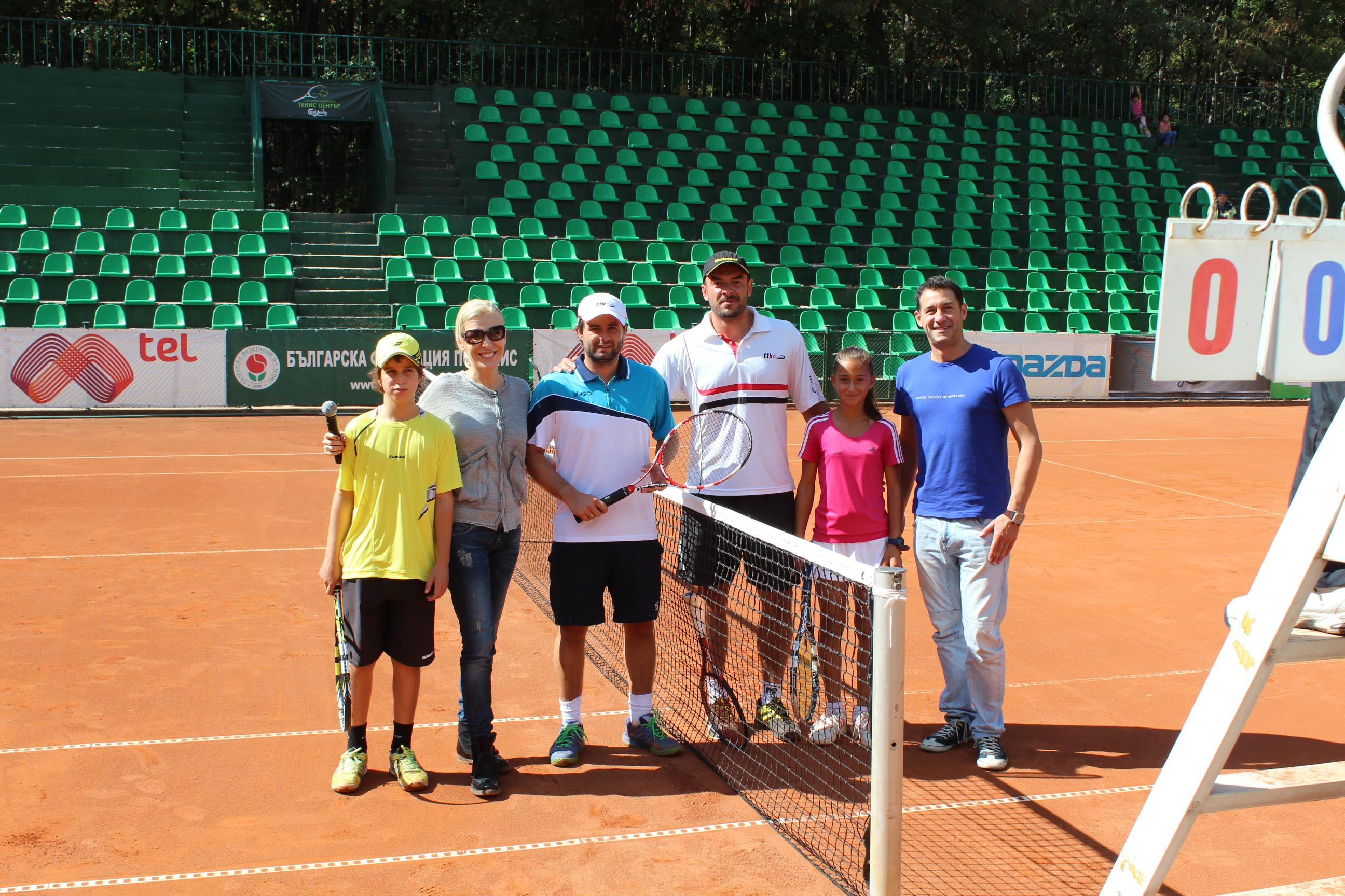 Тенис празник за деца аутисти на кортовете на БНТЦ