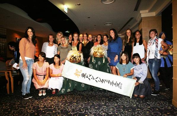 Цвети Пиронкова се включи в партито на WTA в Токио (снимки)