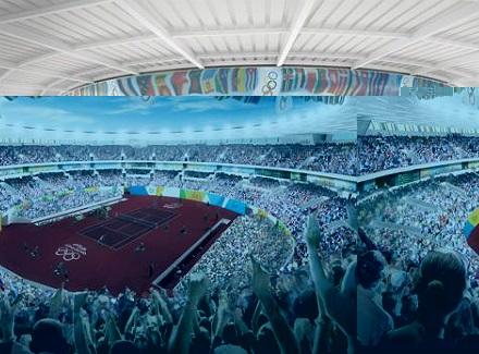 Впечатляващ Олимпийски тенис център изграждат в Рио