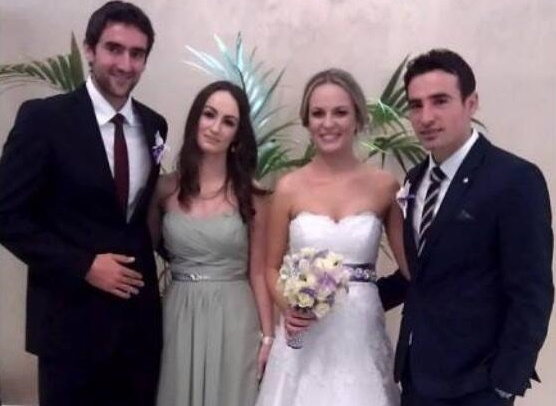 Иван Додиг се ожени за дългогодишната си приятелка