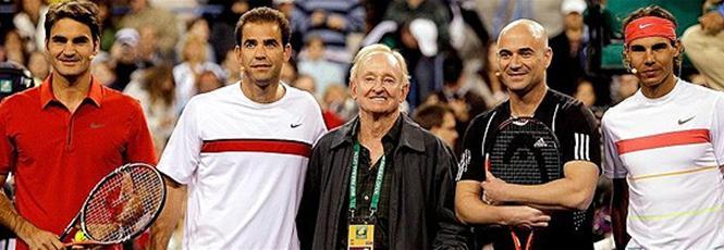 Андре Агаси: В началото Федерер подражаваше на Сампрас