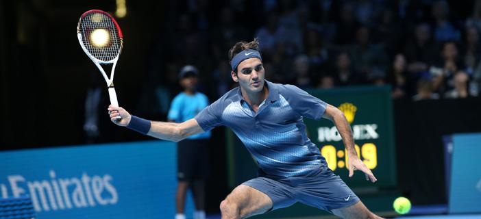 Федерер тества ракета с по-голяма глава за новия сезон
