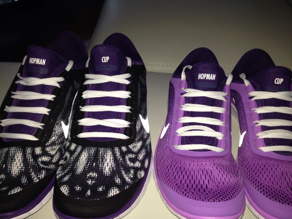 Nike със специален модел маратонки за Квитова и Щепанек