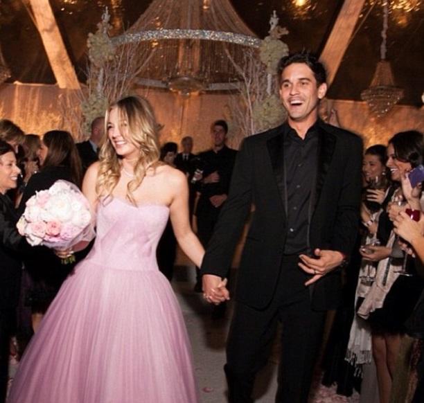 Райън Суитинг се венча за популярна холивудска актриса