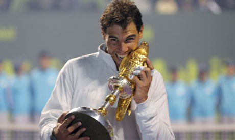 Рафаел Надал изпревари Андре Агаси по брой титли