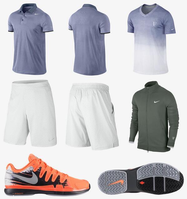 Вижте екипировката на Федерер за турнирите в Индиън Уелс и Маями
