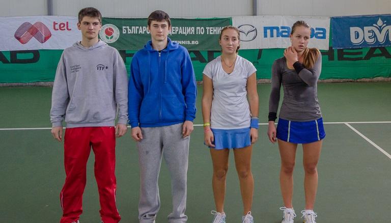 Габриел Донев и Зиновия Ванева са шампиони при 18-годишните